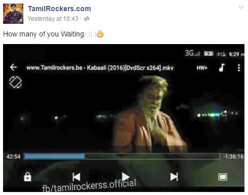 Kabali Tamilrockers