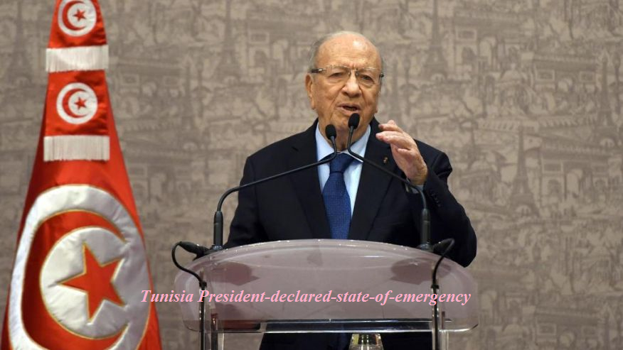 Tunisia President-declared-state-of-emergency