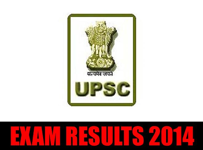 UPSC Civil Services Examination 2014 Results