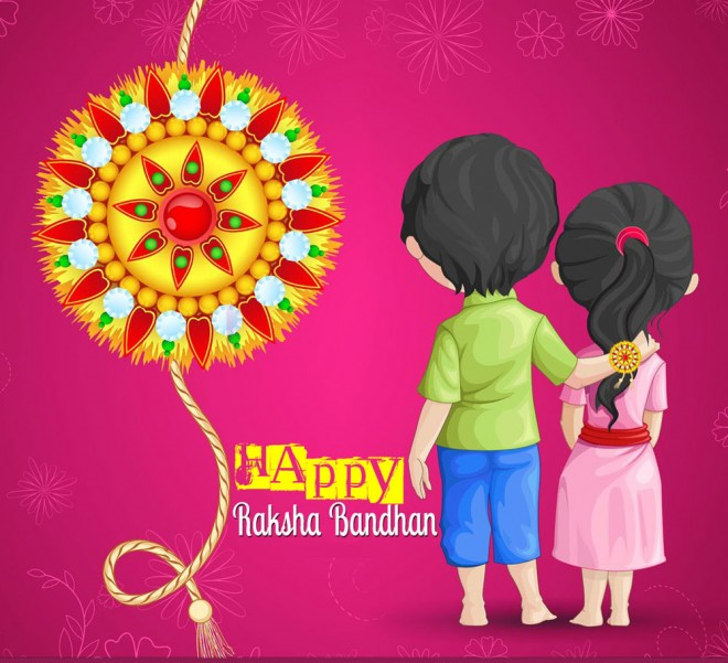 Raksha bandhan greetings cards message in hindi english for sister happy raksha bandhan greeting messages for sisters m4hsunfo