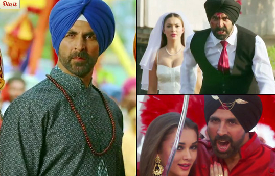 Singh is Bling Trailer: Akshay's back to his comfort zone