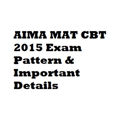 AIMA-MAT-CBT-2015-Exam-Pattern