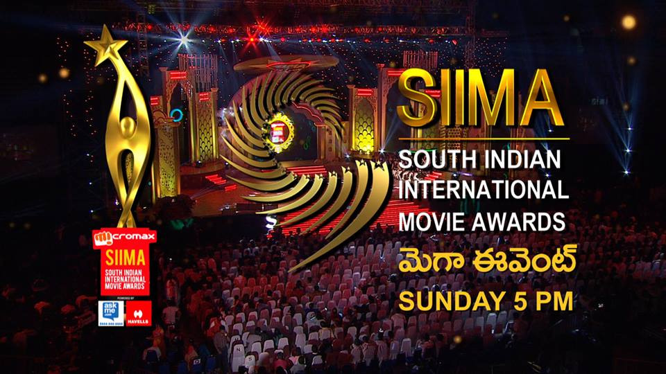 SIIMA Awards 2015 Live on SUN TV, GEMINI TV