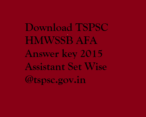 TSPSC-HMWSSB-AFA-Answer-key-2015-Assistant-Set-Wise