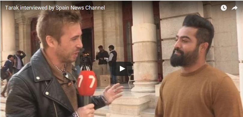 Nannaku Prematho team Special Interview By Spain Media