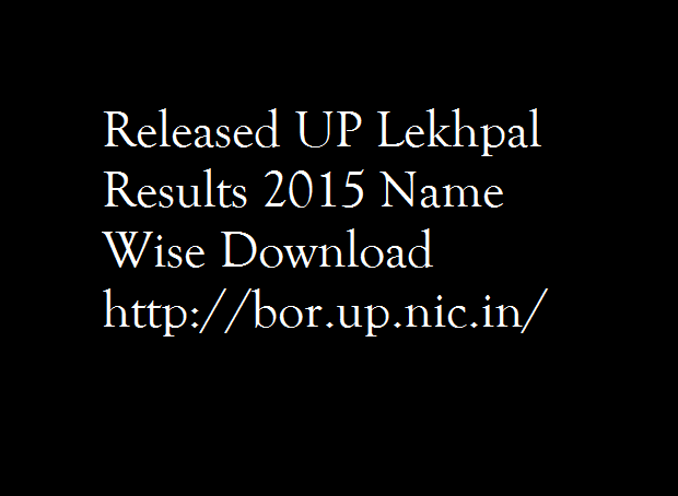 UP-Lekhpal-Results-2015-Name-Wise