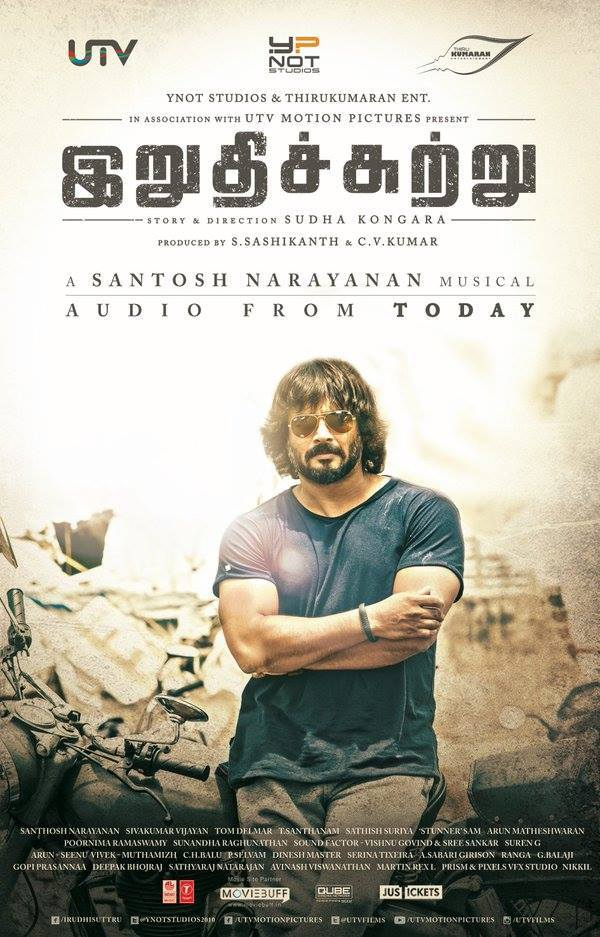 Irudhi Suttru Songs Released – Madhavan, Santhosh Narayan