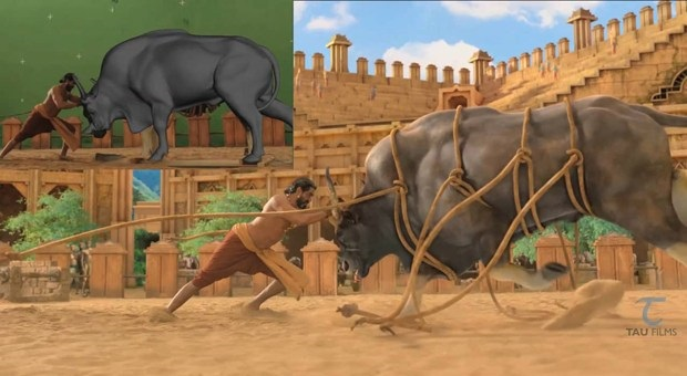 Making-of-Bahubali-Bhallaladeva-Bull-Fight-Sequence.jpg