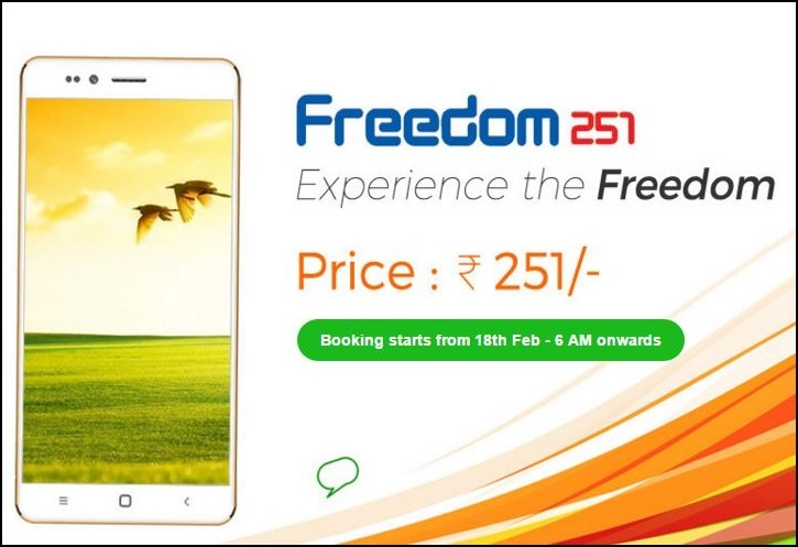 Freedom 251 Business
