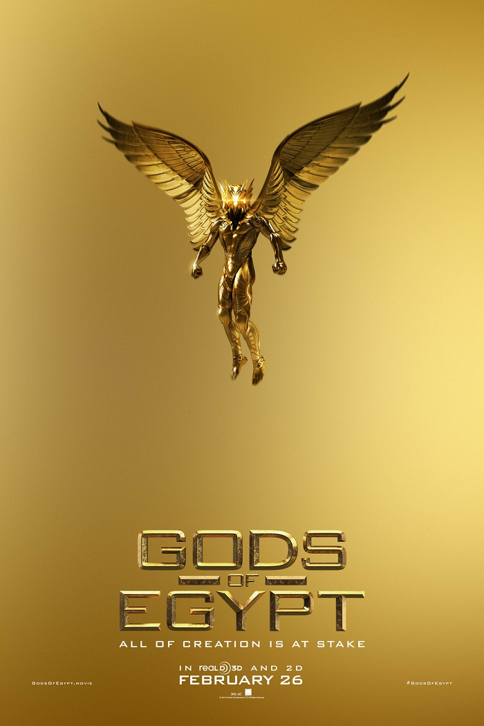 Gods of Egypt English Movie Release Date