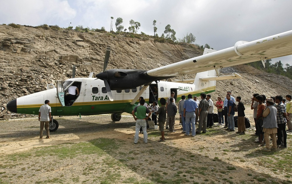 Plane Goes Missing In Nepal