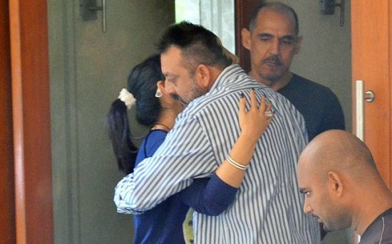 Sanjay Dutt Walks Out Of Jail today