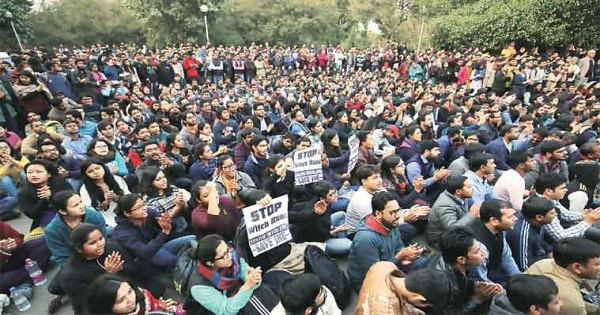 JNU Row Three Out Of Seven Videos Doctored