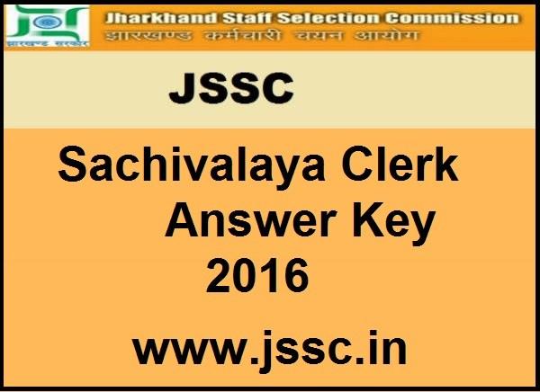 JSSC-Sachivalaya-Answer-Key-2016