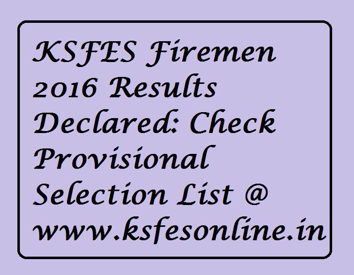 KSFES Firemen
