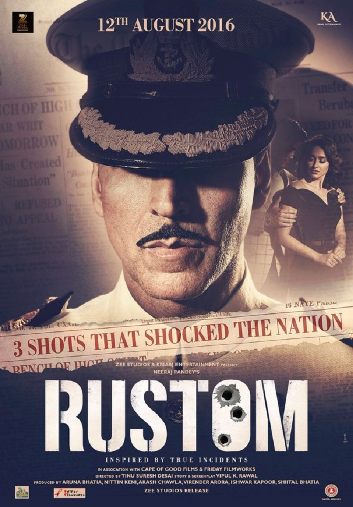 Rustom Movie First Look Poster