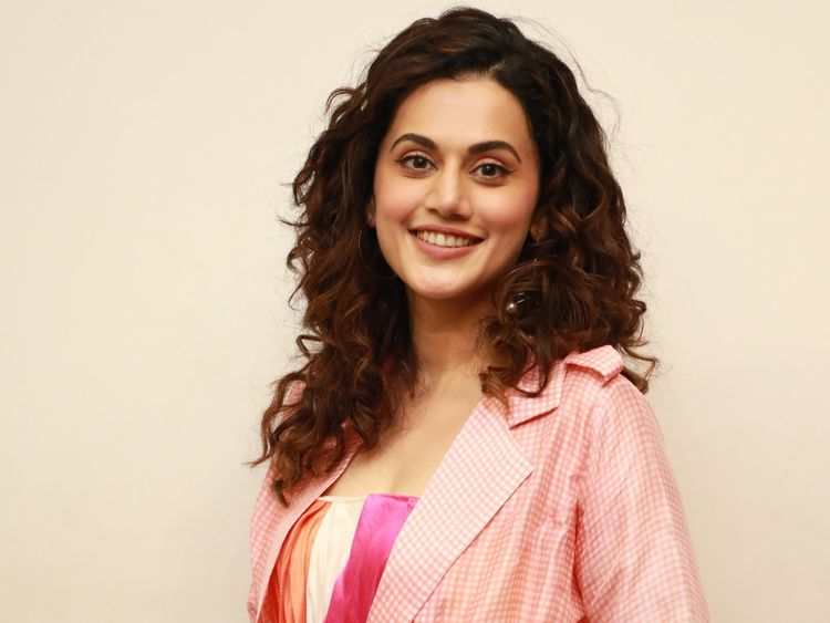 TAAPSEE PANNU after plastic surgery