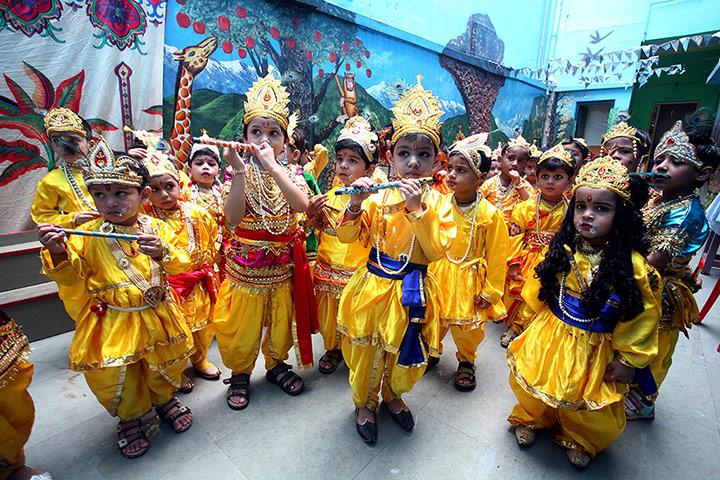 Janamastami in India