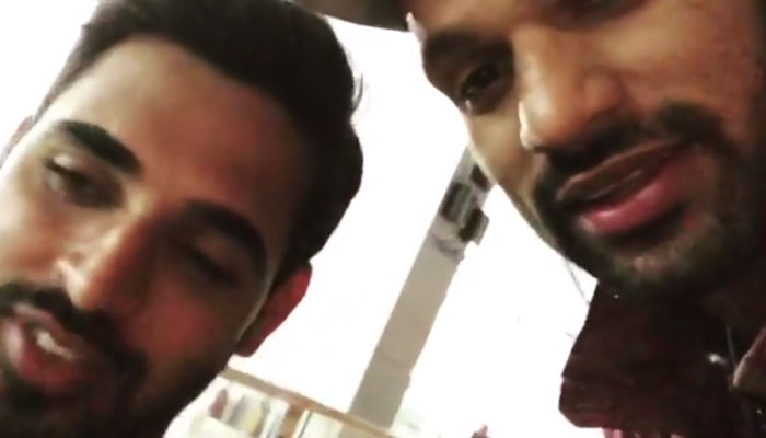 Bhuvneshwar Kumar declares wedding date in Shikar Dhawan's latest video on Instagram