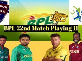 Rangpur vs Sylhet