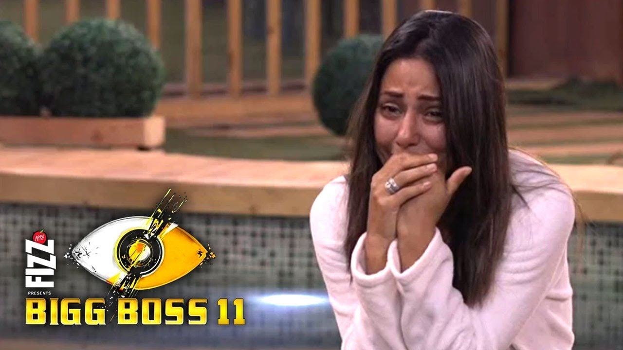 Bigg Boss 11 14th December 2017 - Day 74 Heena Khan Breakdown