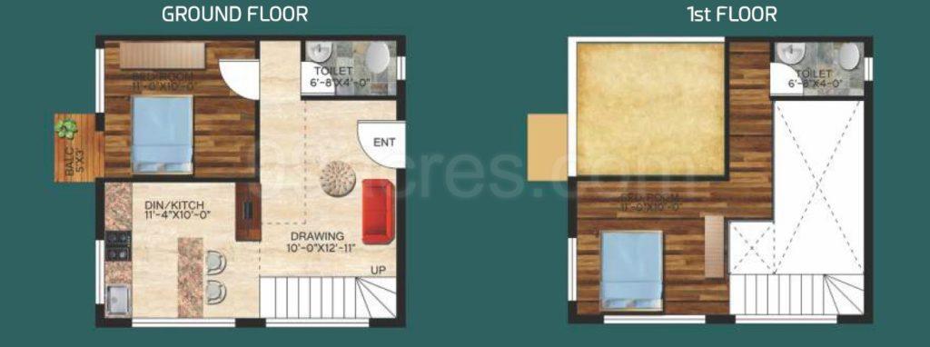 dhariti universia flats design