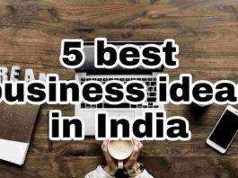 best businesses in india