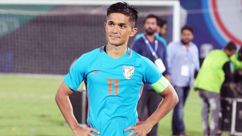 Sunil Chetri indian footballer