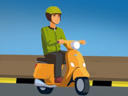 two wheeler self driving companies
