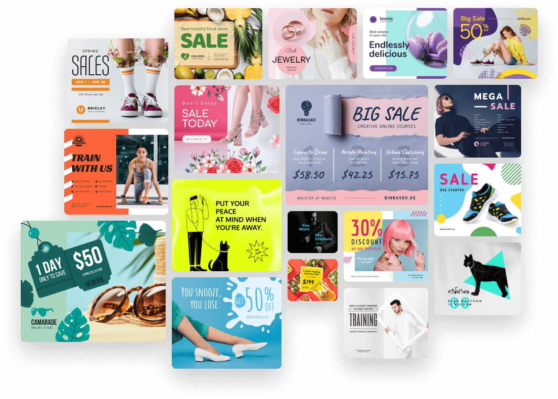 Pick your flyer template.
