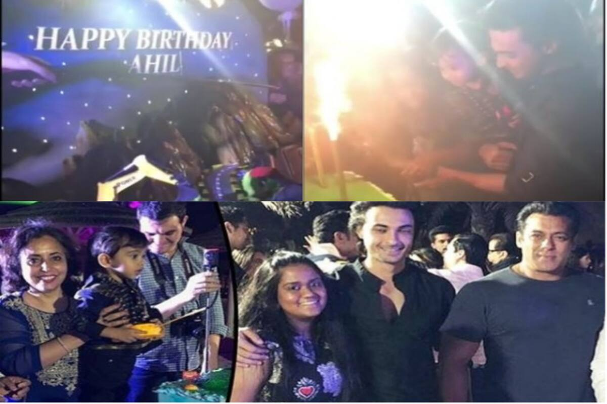 Ahil Sharma's Grand Birthday Party in Dubai
