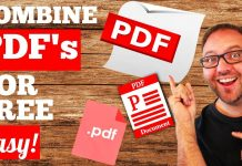Merging PDFs Most Common Uses For It