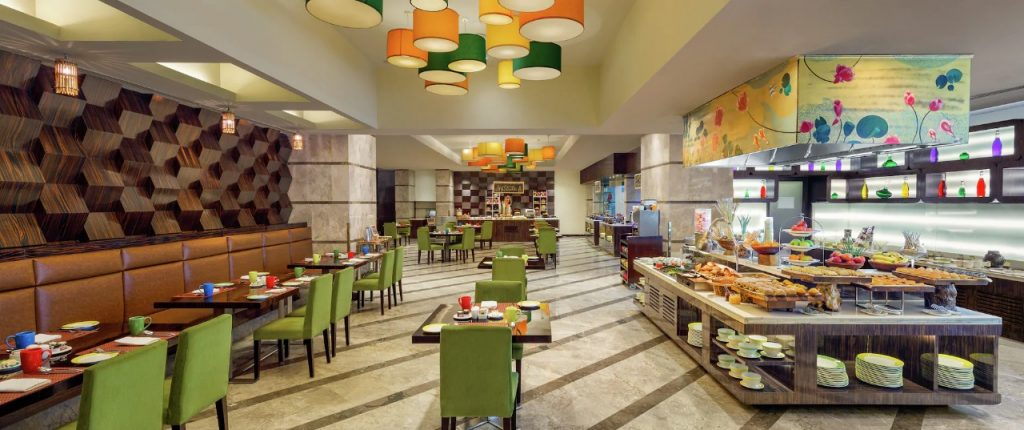 asia alive kitchen in double tree by hilton gurgaon