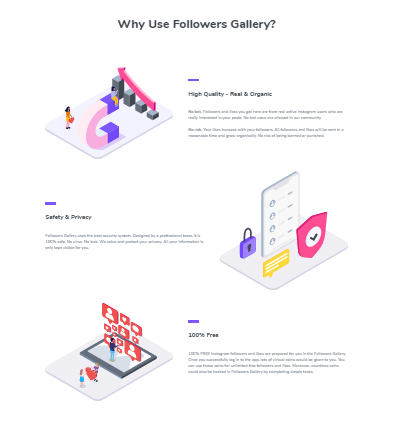 Why use followers gallery