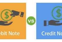 Comparison Credit Note vs Debit Note