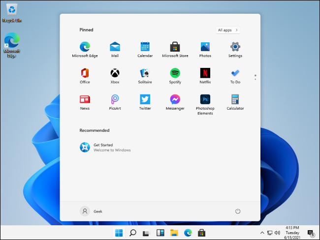 new features of window 11