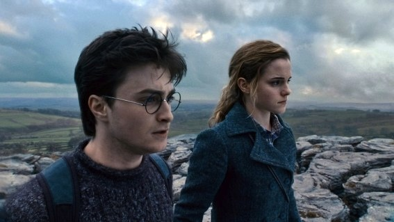 Filming of Deathly Hallows