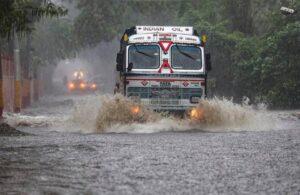 cloudburst in Jammu. massive water