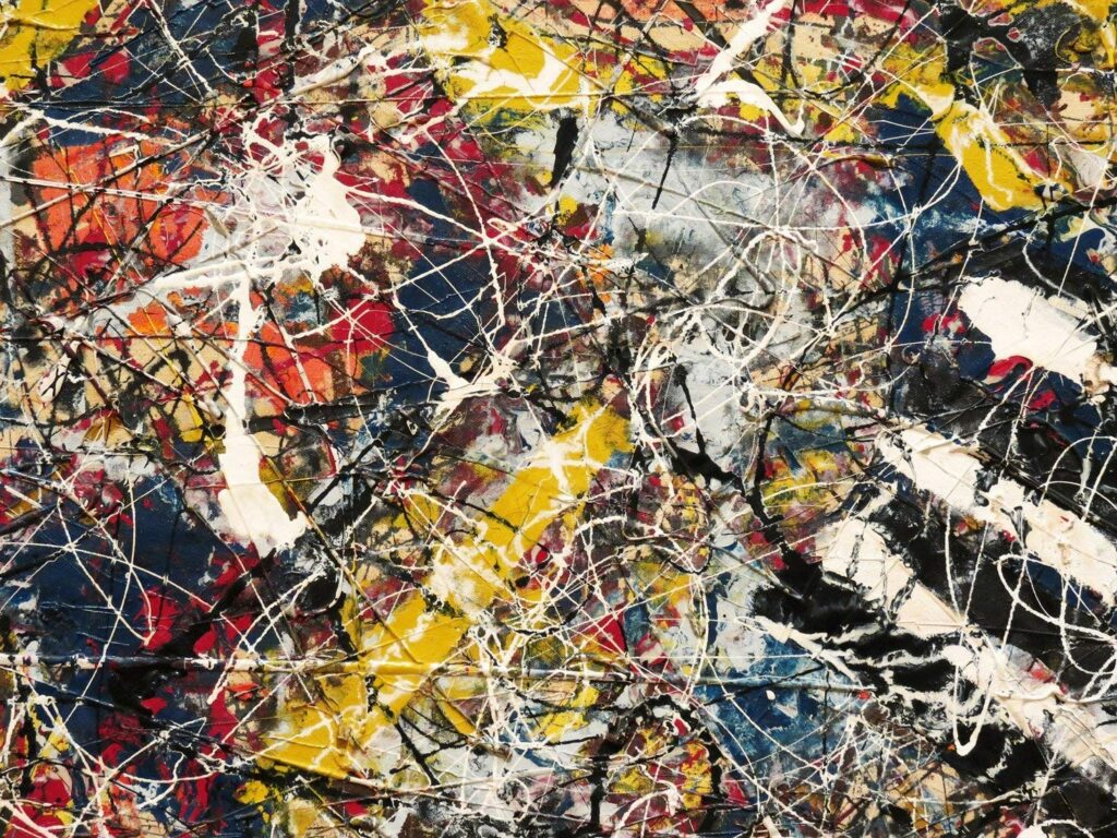 Number 17A by Jackson Pollock - expensive paintings sold in the world