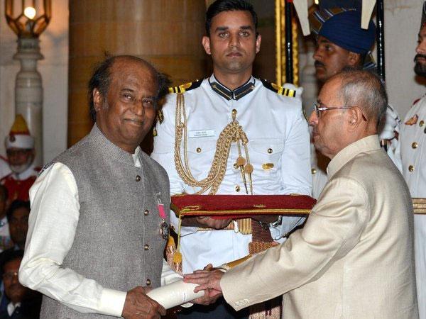 Rajnikanth's most Renowned Awards