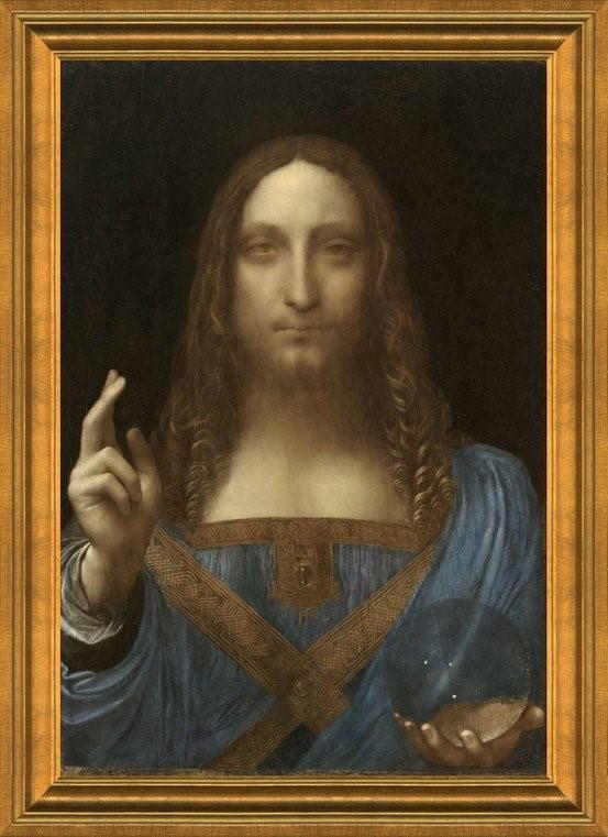 Salvatore Mundi by Leonardo Da Vinci