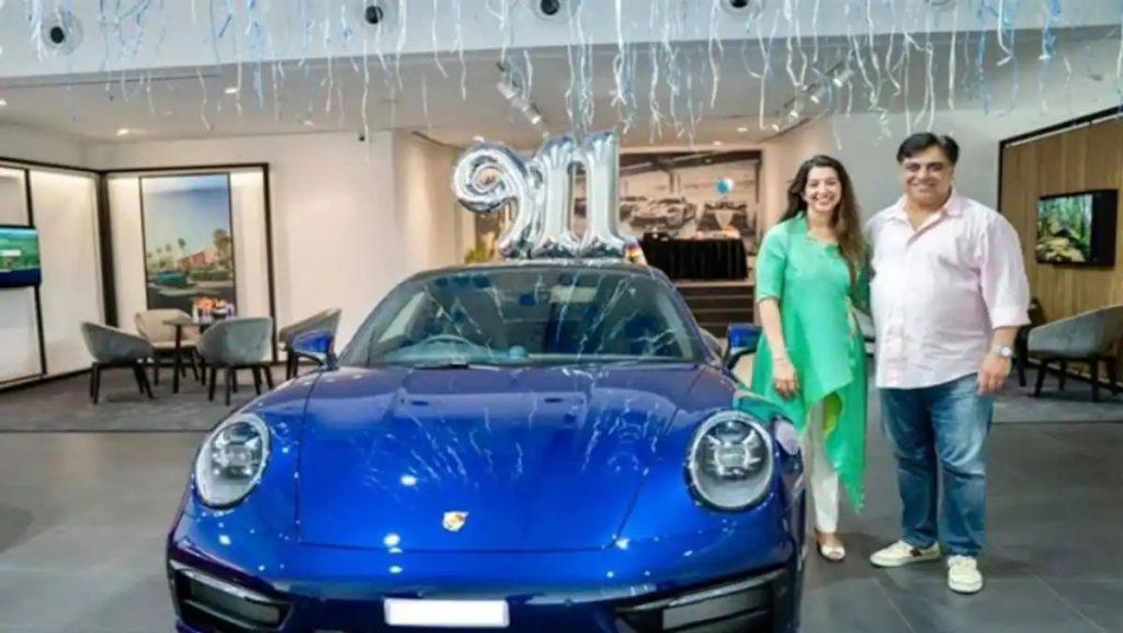 Ram Kapoor buys Porche 911