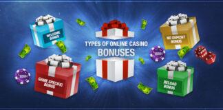 Types-of-Online-Casino-Bonuses